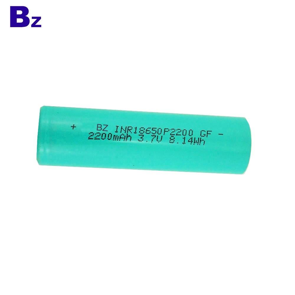 18650 2200mah 3.7V 3C Li-ion Batter