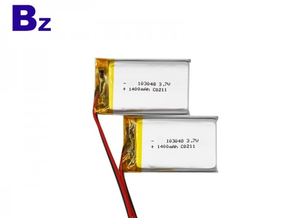 Digital Battery - BZ 103048 - 3.7V - 1400mAh - Lithium-ion Polymer Battery - Rechargeable