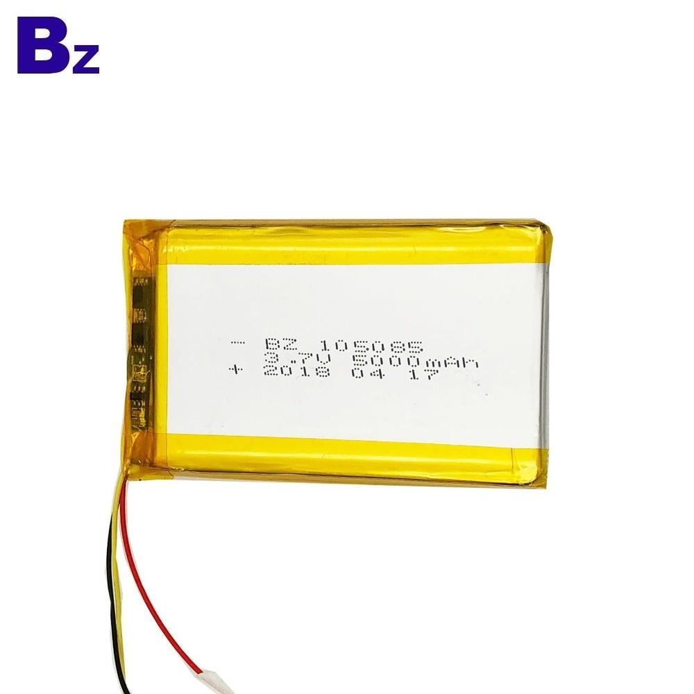 105085 5000mAh 3.7V LiPo Battery