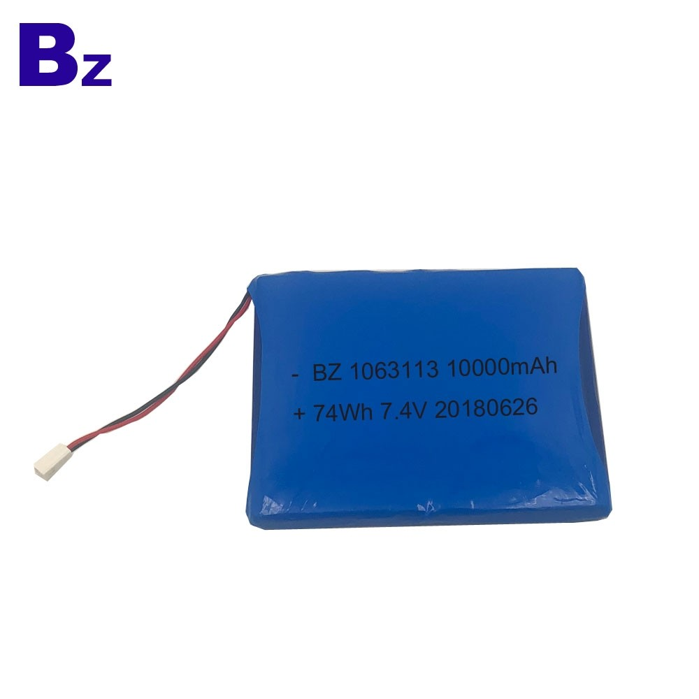Polymer Li-Ion Battery for Medical Equipement