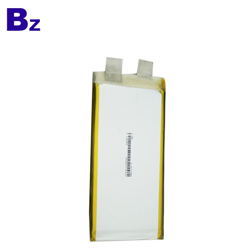 3.7V 10Ah Rechargeable LiPo Battery