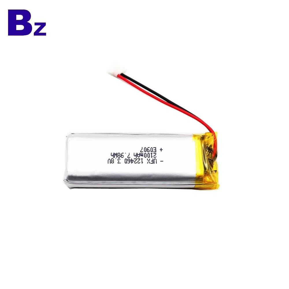 2100mAh Li-Polymer Battery For Flashlight