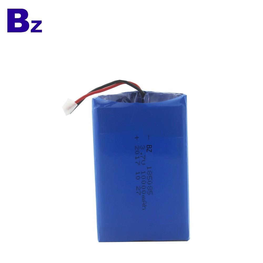 185085 10000mAh 3.7V Rechargeable Li-Polymer Battery