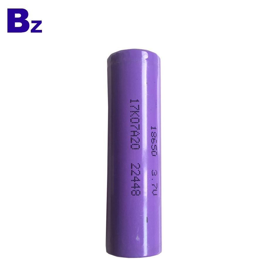 OEM 18650 Batteries 2000mAh 3.7V Rechargeable Li-ion Battery