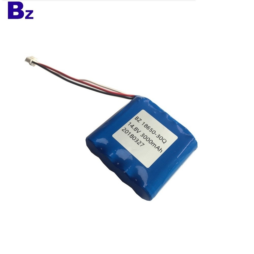 18650-30Q-4S 3000mah 15A Discharge 14.8V Li-ion Battery