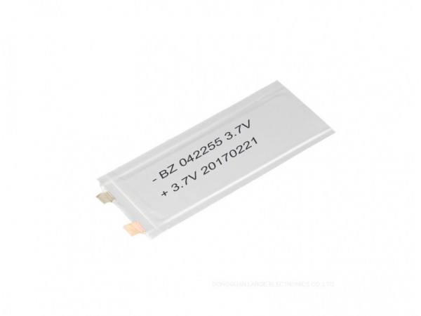 Super-thin Battery - BZ 042255 - 20mAh - 3.7V - Lithium Ion Battery - Rechargeable