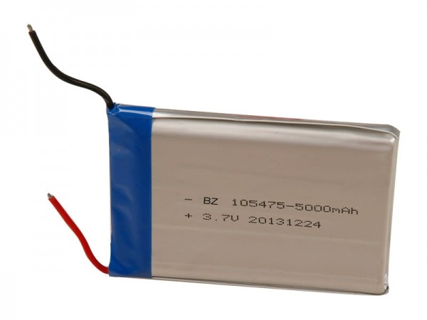 Digital Battery - BZ 105475 - 5000mAh - 3.7V - Lithium Ion Battery - Rechargeable