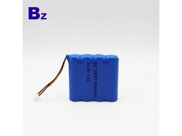 Cylindrical Battery - BZ 18650 - 2600mAh - 14.8V - 1.5C - Lithium Ion Polymer Battery