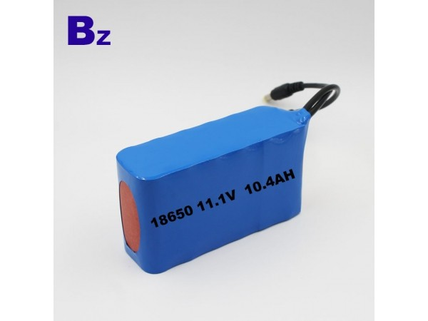 Cylindrical Battery Pack - BZ 18650 3S4P - 10.4Ah - 11.1V - Lithium Ion Polymer Battery