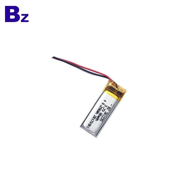 3.7V 80mAh Rechargeable LiPo Battery