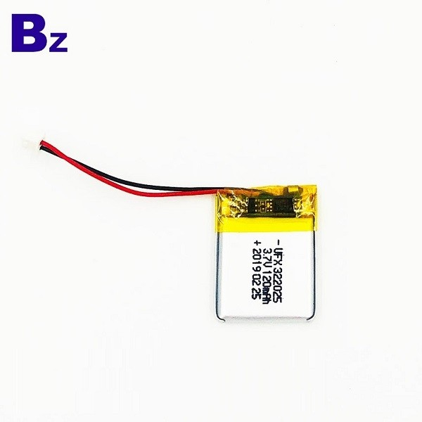 120mAh 3.7V Customized Battery
