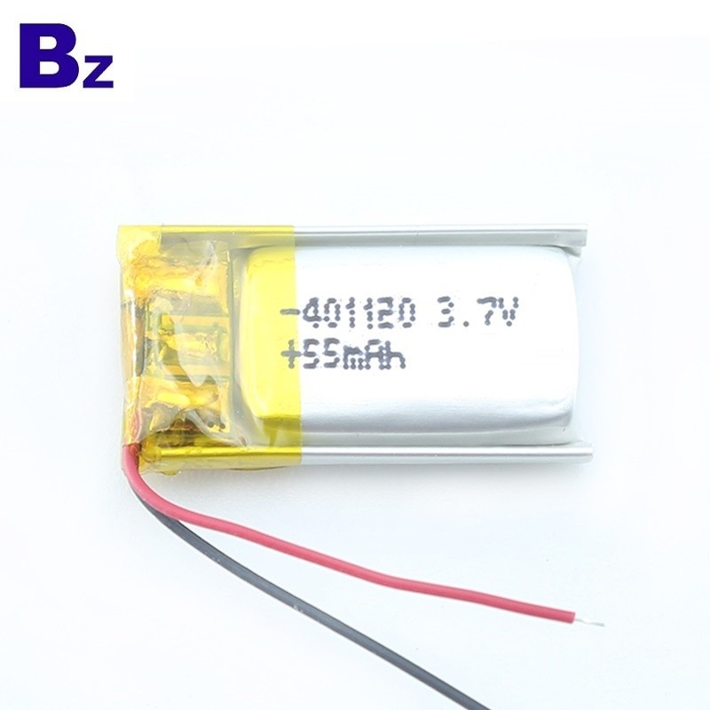 55mAh Li-polymer Battery for Bluetooth Smart Bracelet