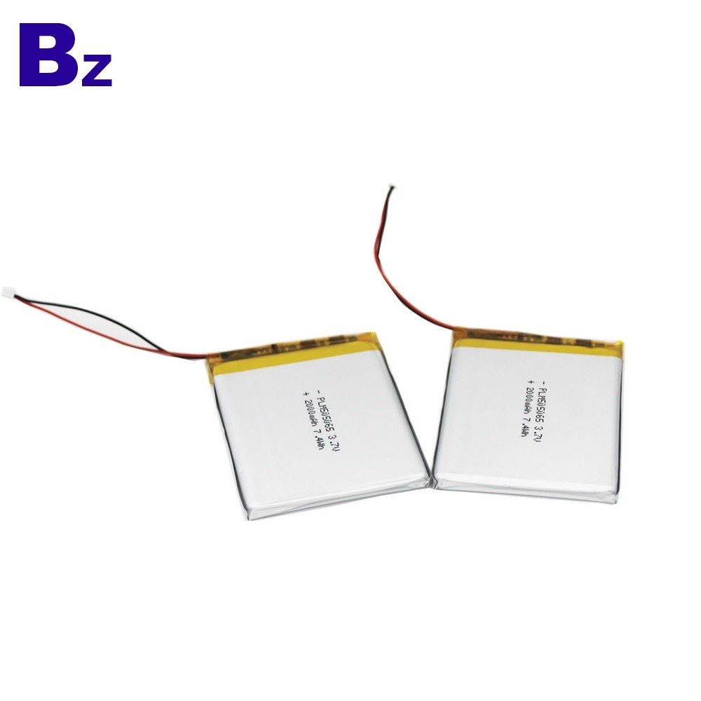 505065 3.7V 2000mAh Lipo Battery