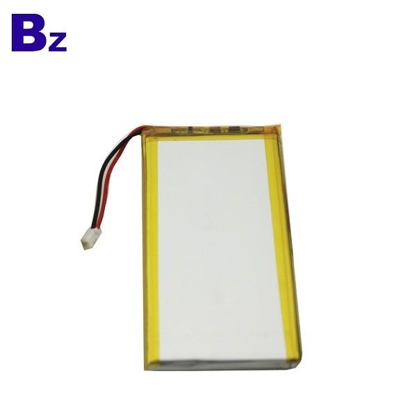 553480 1700mAh 3.7V Rechargeable Li-Polymer Battery