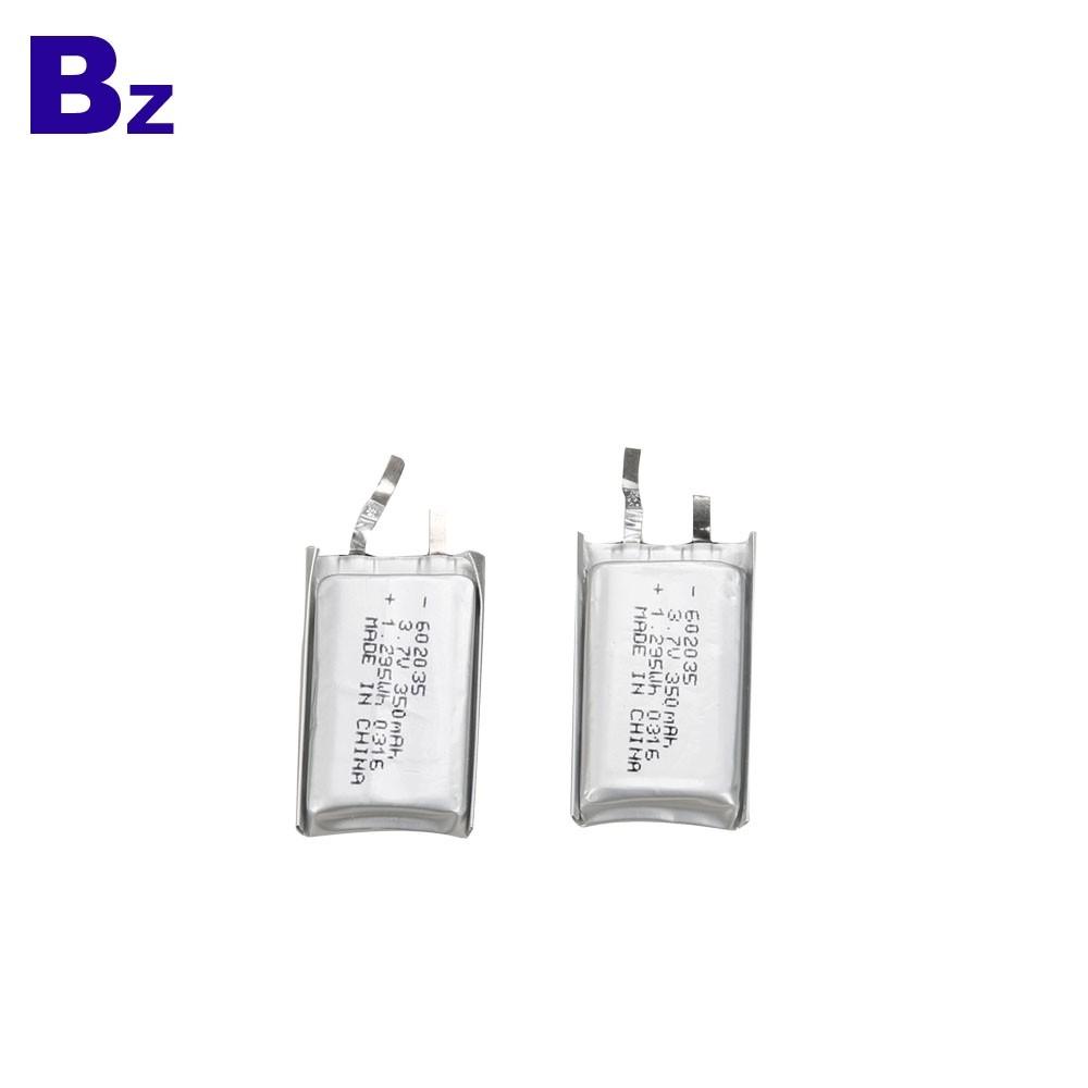 602035 350mah 3.7V Lipo Battery Cells