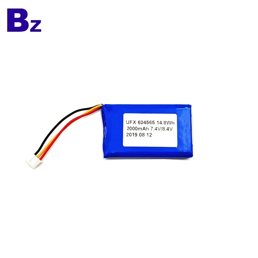2000mAh Li-Polymer Battery For 3C Digital