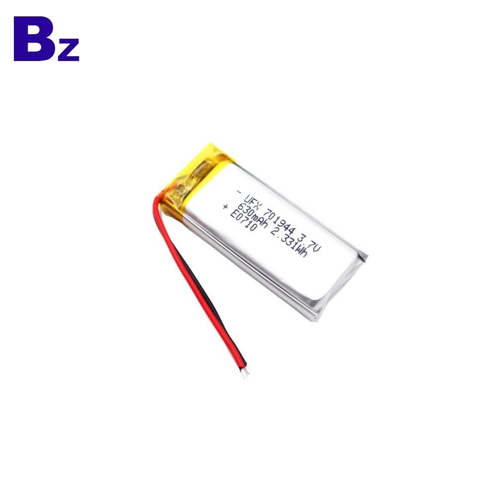 630mAh Blood Pressure Monitor lipo Battery