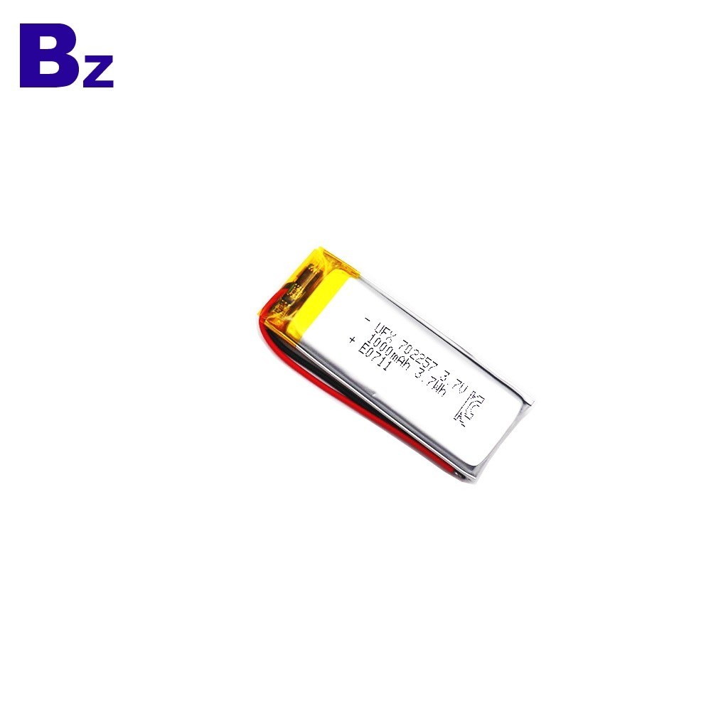 1000mAh Lithium Battery With MSDS And KC Certification