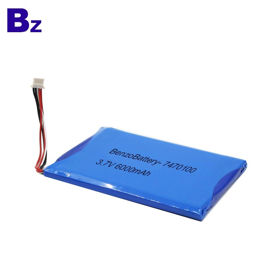7470100 6000mah 3.7V Lipo Battery For Medical Products