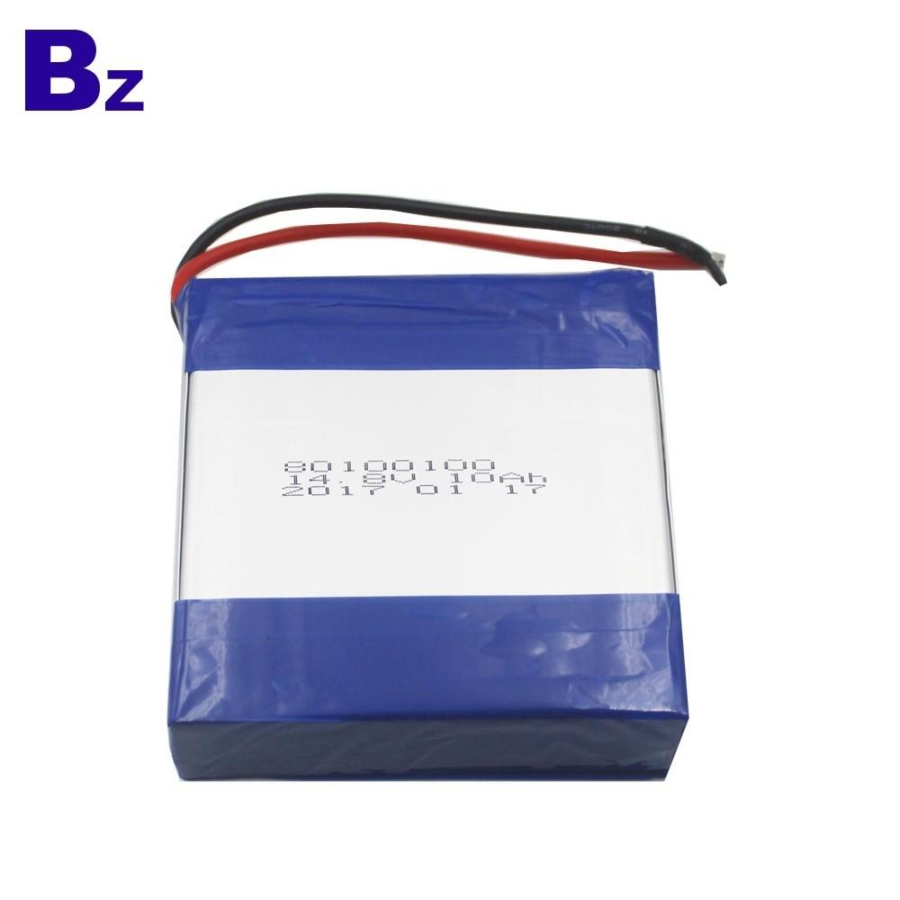 80100100-4S 14.8V 10AH Lipo Battery Pack