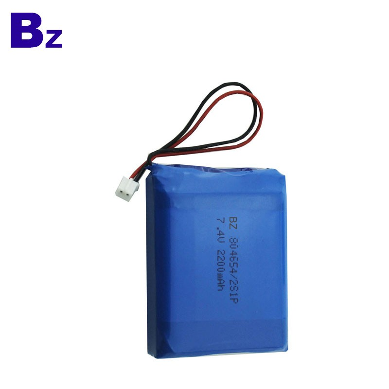 2200mah 7.4V Polymer Li-Ion Battery