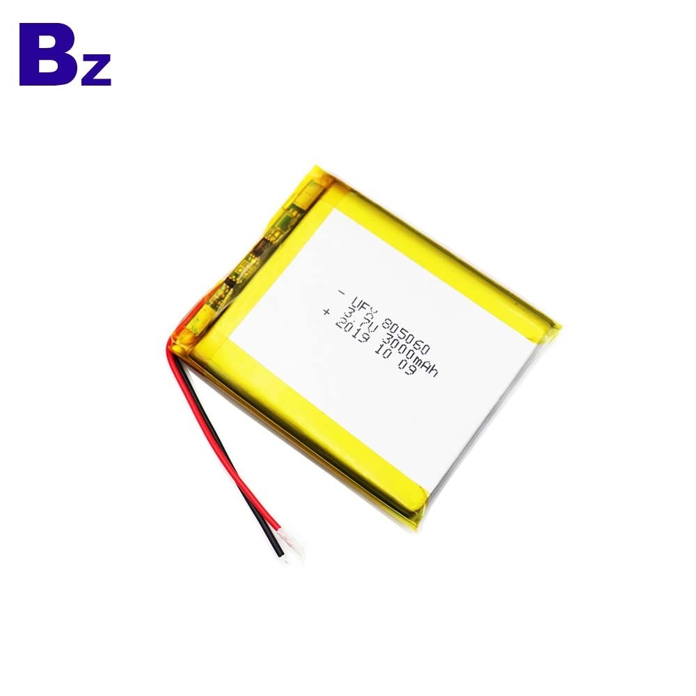805060 3.7V 3000mAh Battery For Bluetooth Speaker