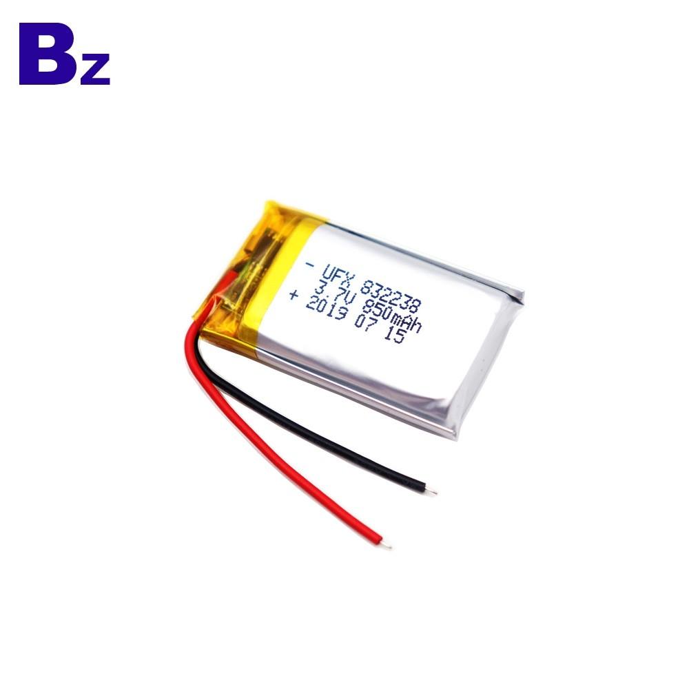 850mAh Bluetooth Speaker Lipo Battery