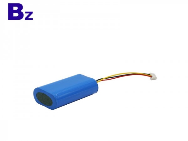 Cylindrical Battery - BZ 18650 - 2S - 2600mAh - 7.4V - Lithium Ion Polymer Battery - Rechargeable