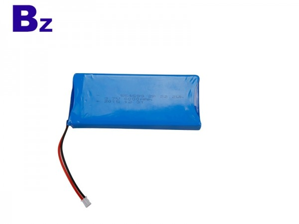 Medical Battery - BZ 554599 2P - 6000mAh - 3.7V - Lithium Ion Battery - Rechargeable
