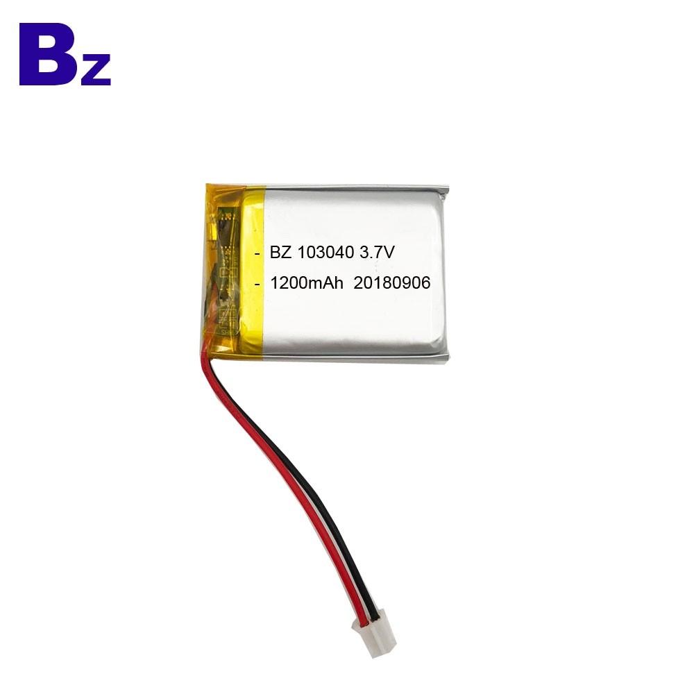 KC Certification Li-polymer Battery for Sweep Meter
