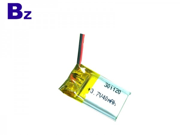 Special Battery - BZ 301120 - 40mAh - 3.7V - Lithium Ion Polymer Battery - Rechargeable