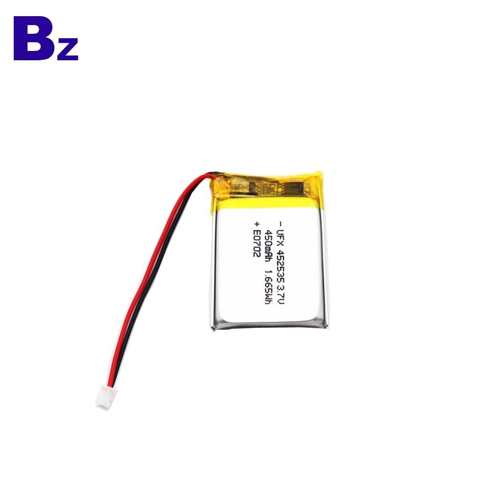 450mAh Lipo Battery For Monitor Device
