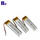 801350 550mah 3.7V Rechargeable Lipo Battery Pack