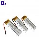 801350 550mah 3.7V Rechargeable Lipo Battery Pack
