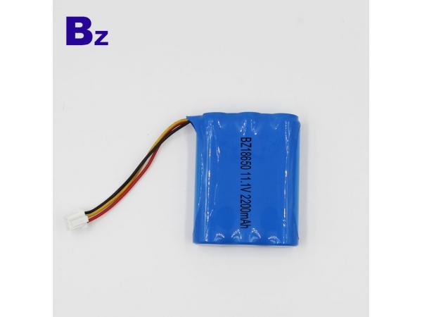 18650 3S - 2200mAh - 11.1V - 1.5C li-po battery