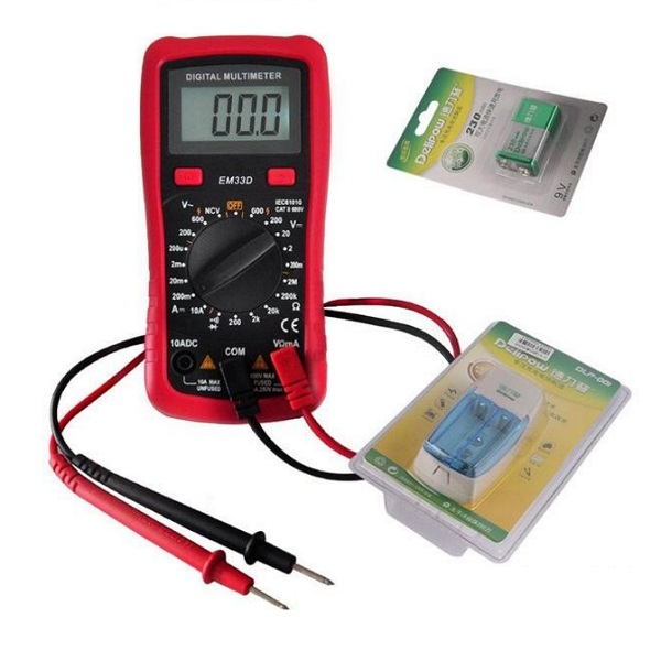 How to judge the quality of rechargeable batteries with a multimeter