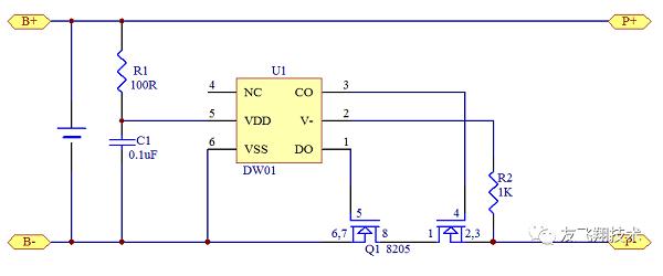 protection IC of li-ion battery