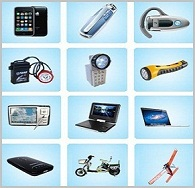 lithium ion polymer battery Applications