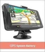 GPS System Battery