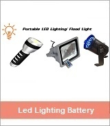 Led Lighting Battery