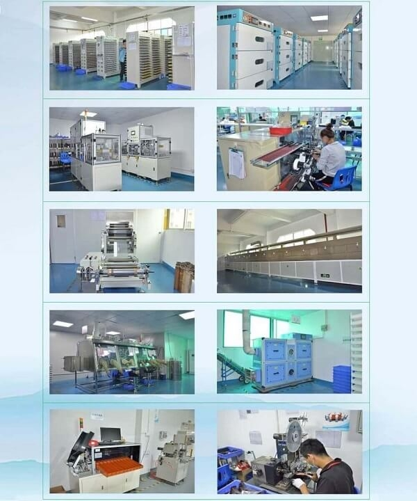 production equipment of lithium battery cells