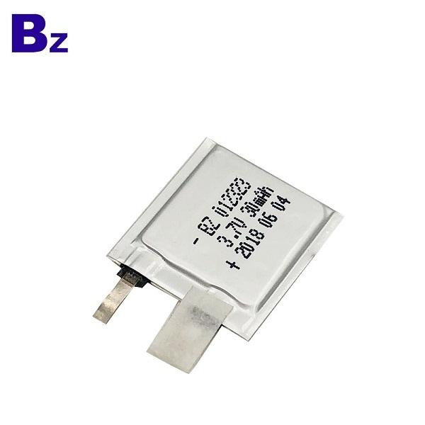 012323 30mAh 3.7V Lipo Battery