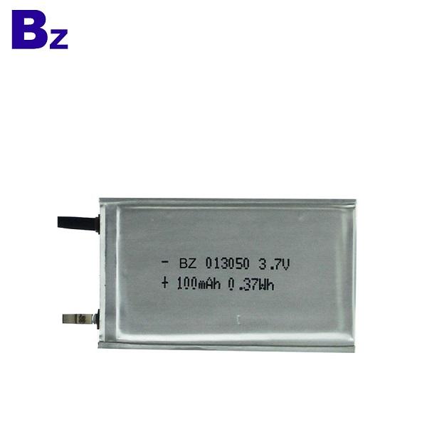 3.7V Ultra Thin Polymer Li-Ion Battery