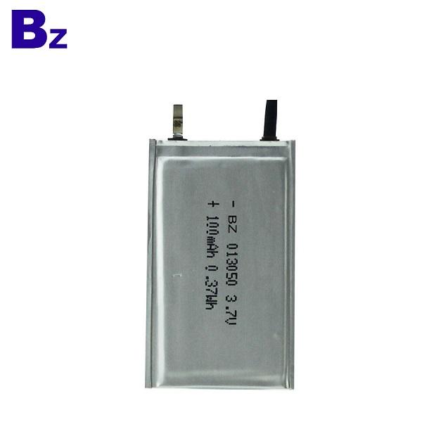 100mah Ultra Thin Polymer Li-Ion Battery