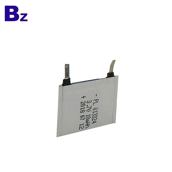 18mAh 3.7V Super Thin Battery