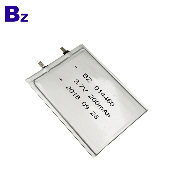 200mAh 3.7V Super Thin Battery