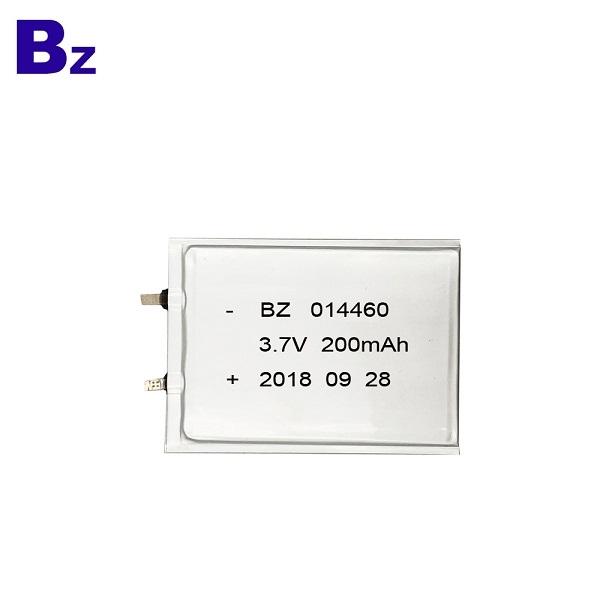 014460 200mAh 3.7V Super Thin Battery