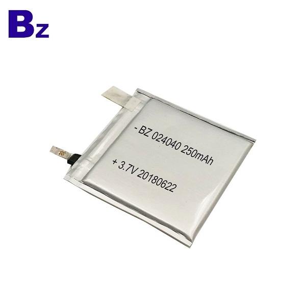 024040 250mAh 3.7V Lipo Battery Cell