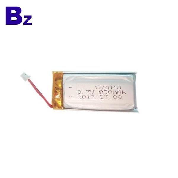 800mah 3.7V Li-polymer Battery