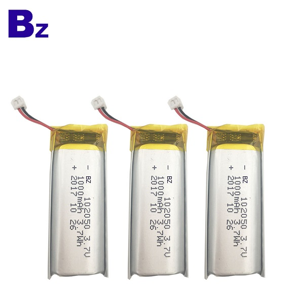 1000mAh 3.7V Rechargeable Li-Polymer Battery